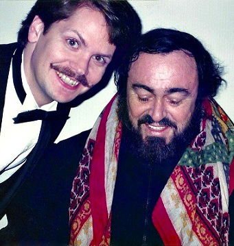 Tenors Brown and Pavarotti